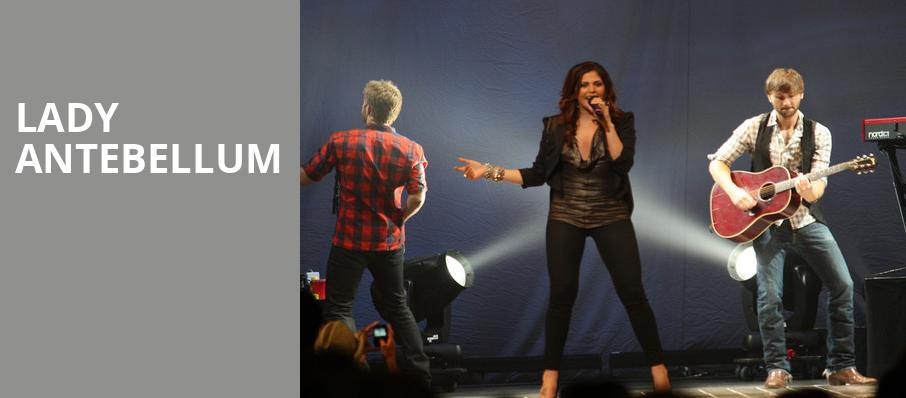 Lady Antebellum, Hollywood Casino Amphitheatre Chicago, Chicago