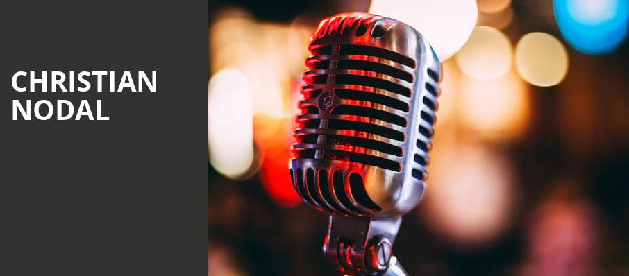 Christian Nodal, Rosemont Theater, Chicago