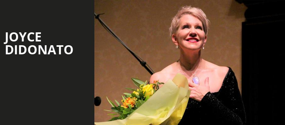 Joyce Didonato, Symphony Center Orchestra Hall, Chicago