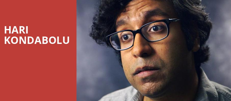 Hari Kondabolu, Thalia Hall, Chicago