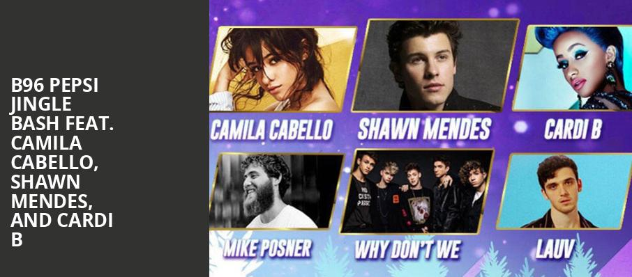 B96 Pepsi Jingle Bash feat Camila Cabello Shawn Mendes and Cardi B, All State Arena, Chicago