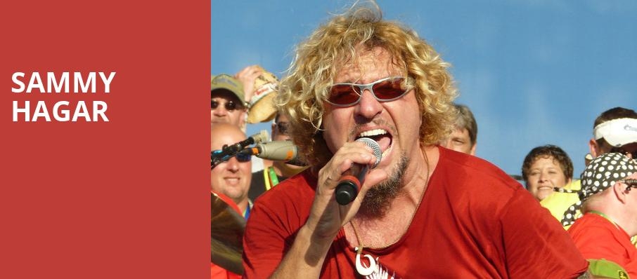 Sammy Hagar, Hollywood Casino Amphitheatre IL, Chicago
