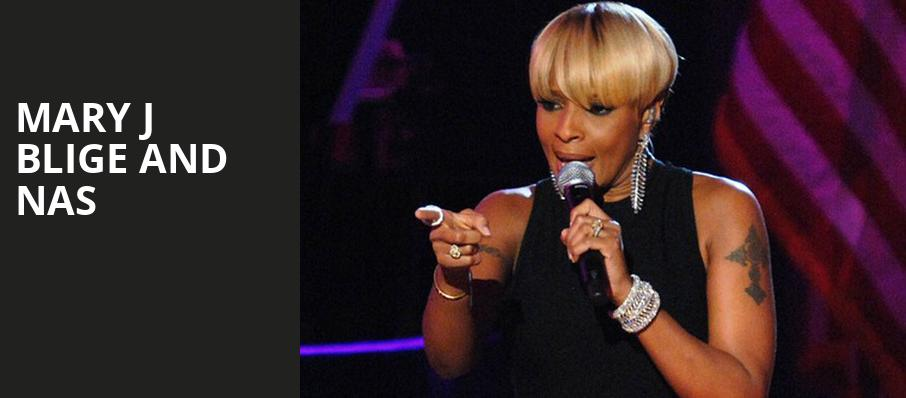 Mary J Blige and Nas, Ravinia Pavillion, Chicago