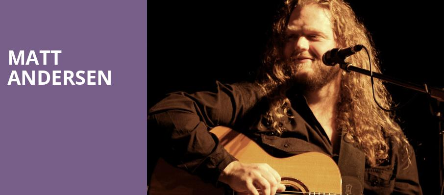 Matt Andersen, Evanston Space, Chicago