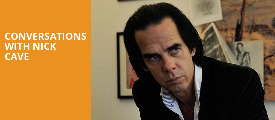Conversations with Nick Cave, Copernicus Center Theater, Chicago