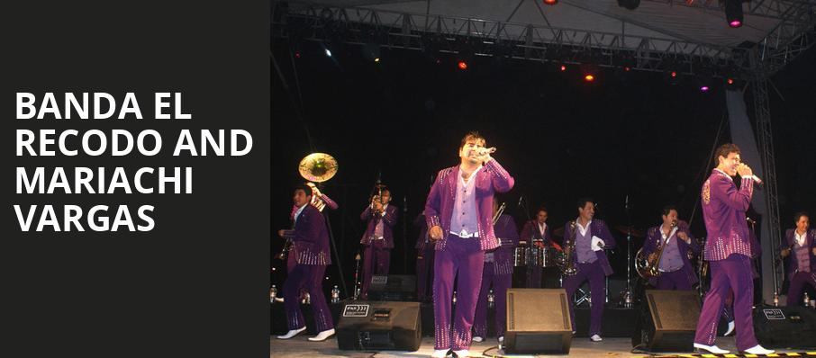 Banda El Recodo and Mariachi Vargas, Rosemont Theater, Chicago