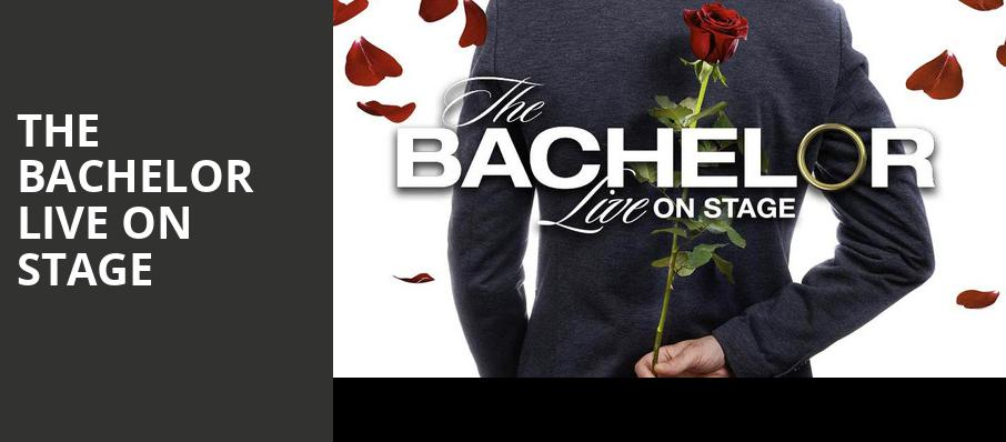 The Bachelor Live On Stage, Cadillac Palace Theater, Chicago