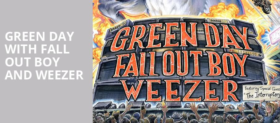 Green Day with Fall Out Boy and Weezer, Wrigley Field, Chicago