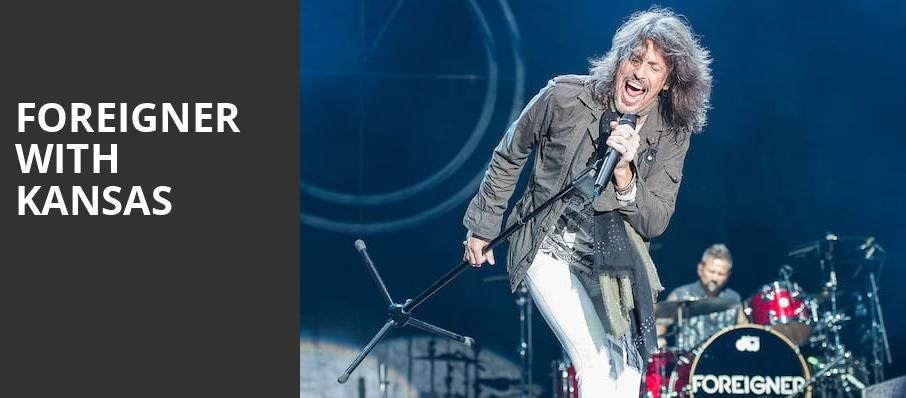 Foreigner with Kansas, Hollywood Casino Amphitheatre Chicago, Chicago
