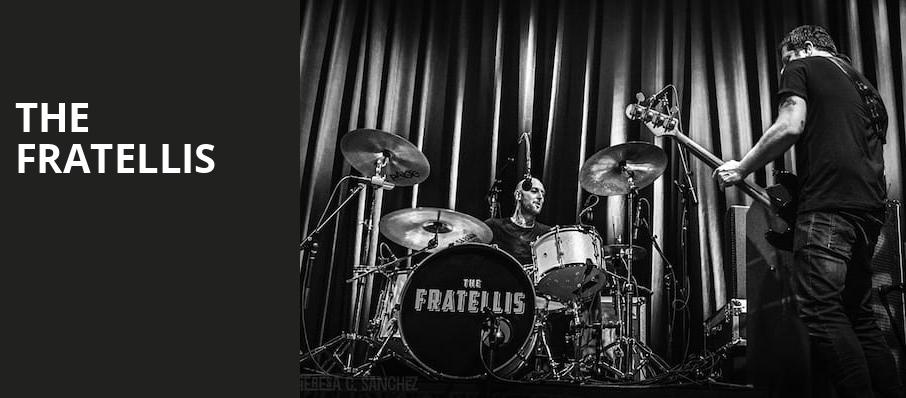 The Fratellis, Metro Smart Bar, Chicago
