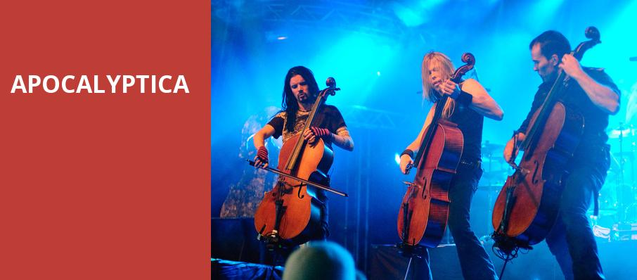 Apocalyptica, House of Blues, Chicago