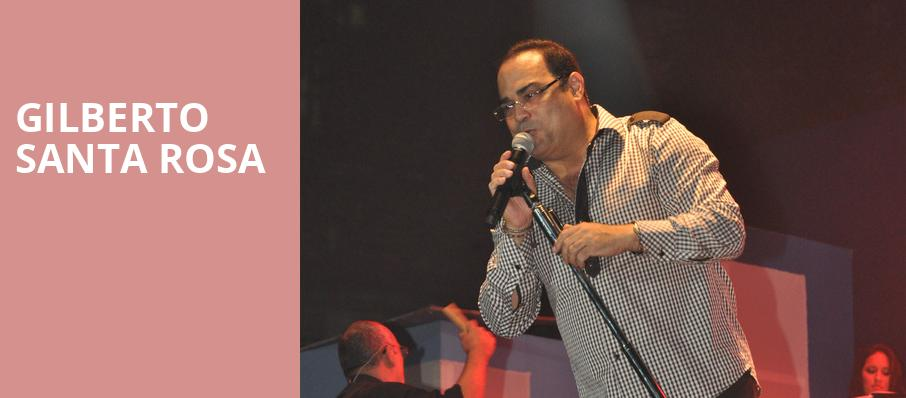 Gilberto Santa Rosa, Copernicus Center Theater, Chicago