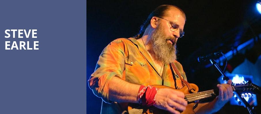 Steve Earle, City Winery, Chicago