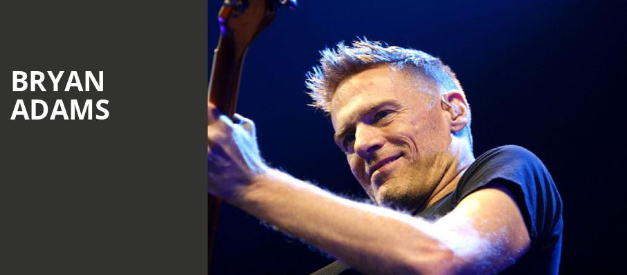 Bryan Adams, TaxSlayer Center, Chicago