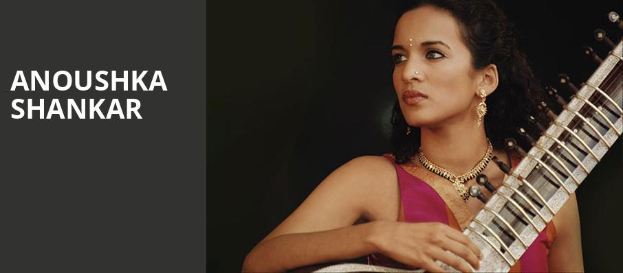 Anoushka Shankar, Symphony Center Orchestra Hall, Chicago