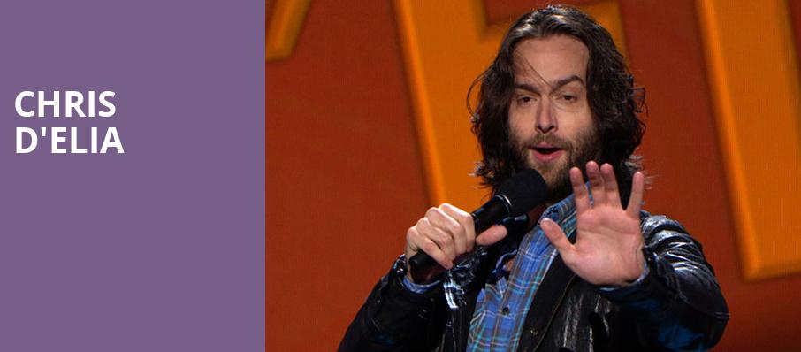 Chris DElia, The Chicago Theatre, Chicago