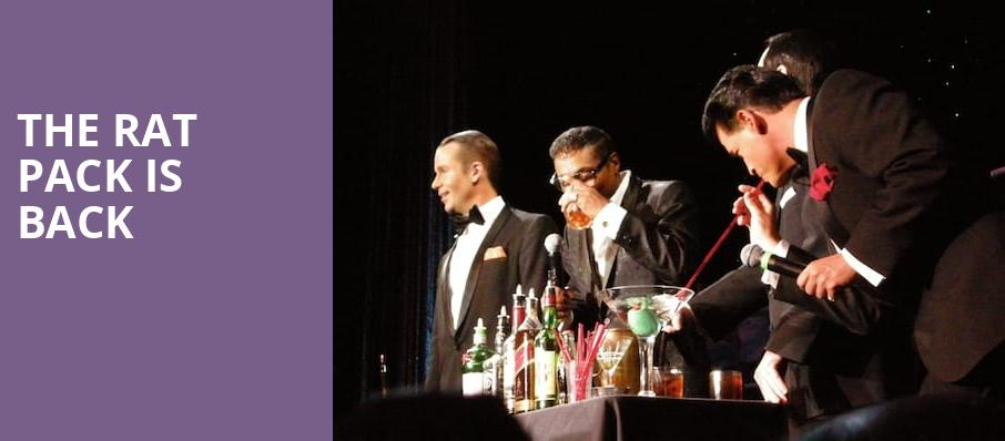 The Rat Pack Is Back, Rosemont Theater, Chicago