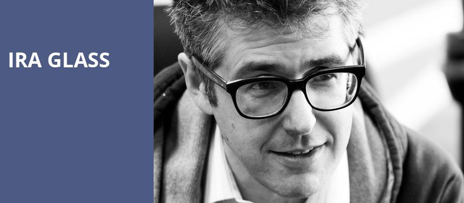 Ira Glass, Auditorium Theatre, Chicago