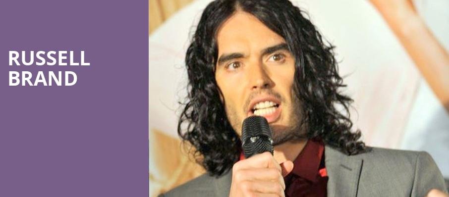 Russell Brand, Harris Theater, Chicago