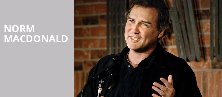Norm Macdonald, Vic Theater, Chicago