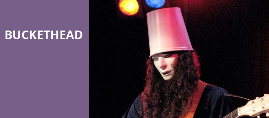 Buckethead, Vic Theater, Chicago