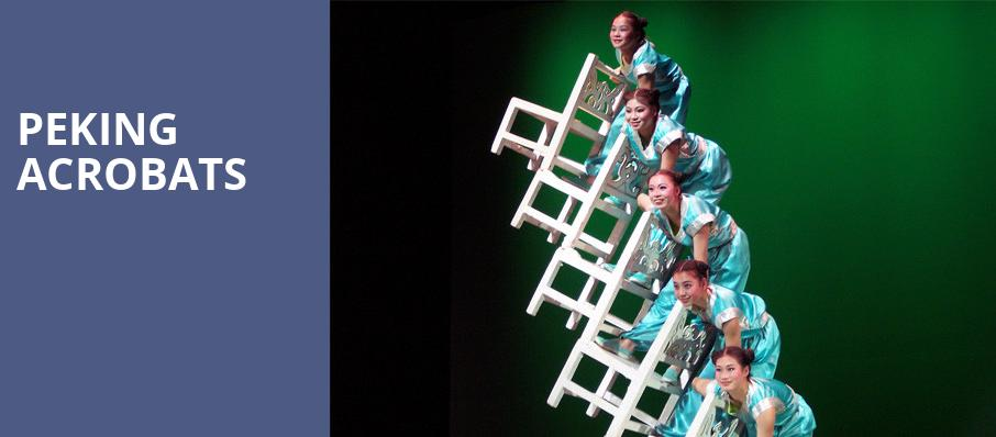 Peking Acrobats, Ravinia Pavillion, Chicago