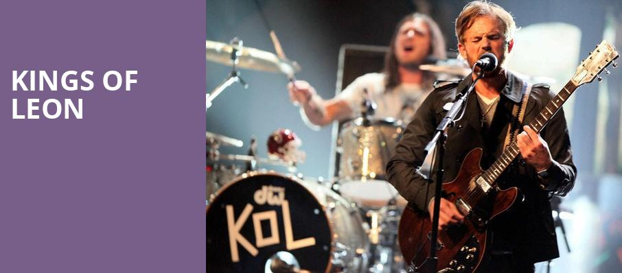 Kings of Leon, Hollywood Casino Amphitheatre IL, Chicago