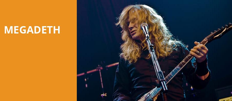 Megadeth, Hollywood Casino Amphitheatre Chicago, Chicago