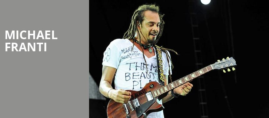 Michael Franti, Concord Music Hall, Chicago