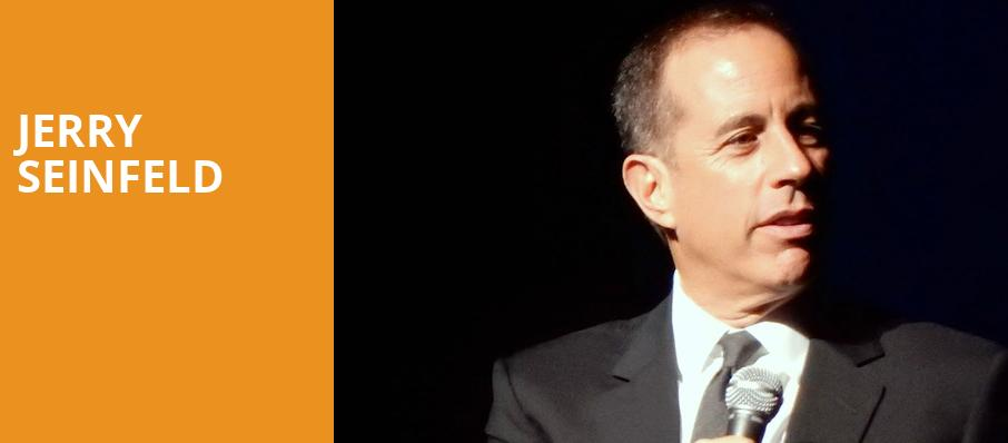Jerry Seinfeld, The Chicago Theatre, Chicago