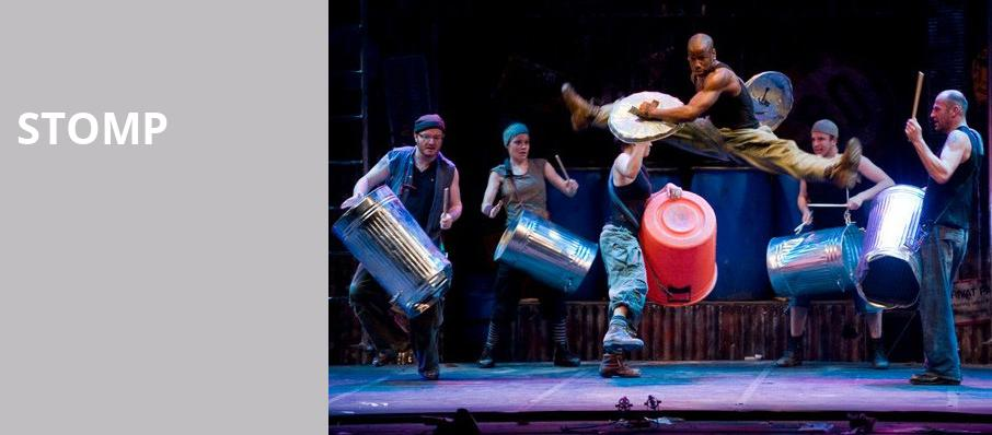 Stomp, Broadway Playhouse, Chicago