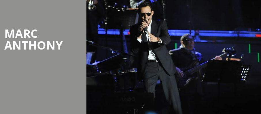 Marc Anthony, All State Arena, Chicago