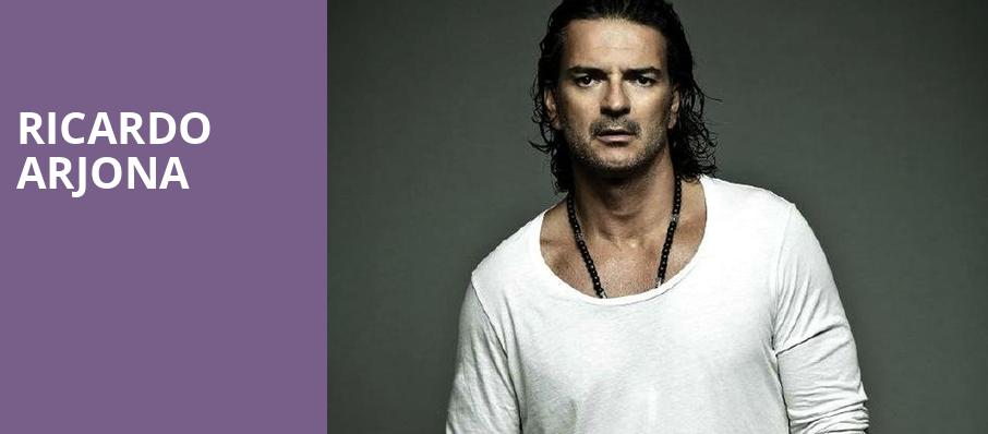 Ricardo Arjona, All State Arena, Chicago