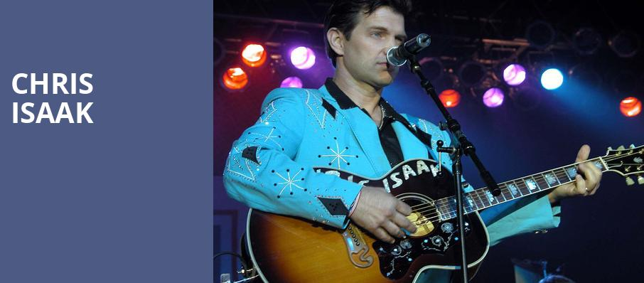 Chris Isaak, Genesee Theater, Chicago