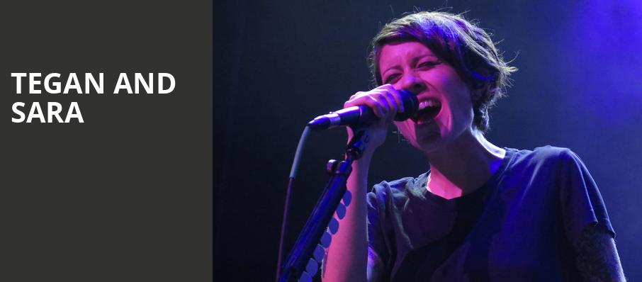 Tegan and Sara, Cahn Auditorium, Chicago