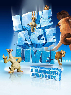 Ice Age On Ice Poster