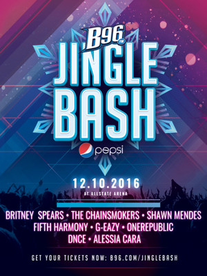 b96 pepsi jingle bash britney spears shawn mendes fifth harmony the chainsmokers all. Black Bedroom Furniture Sets. Home Design Ideas